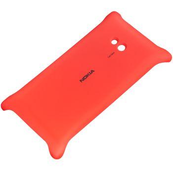 Nokia kryt pro bezdrátové nabíjení CC-3064 pro Lumia 720, červená