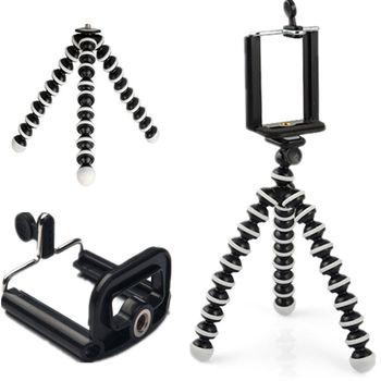 Stativ pro mobilní telefony, flexibilní nohy, univerzální úchyt na mobilní telefon