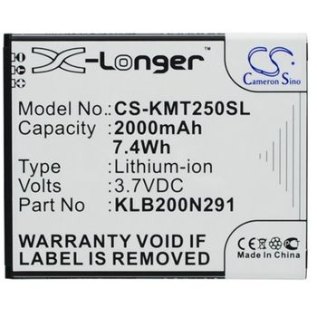 Baterie náhradní pro Kazam Trooper2 5.0, 2000mAh Li-ion