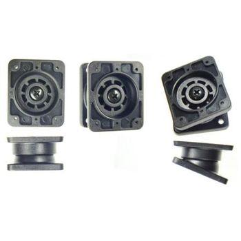 Brodit zesílený otočný montážní adaptér, AMPS otvory, 42x50x25mm