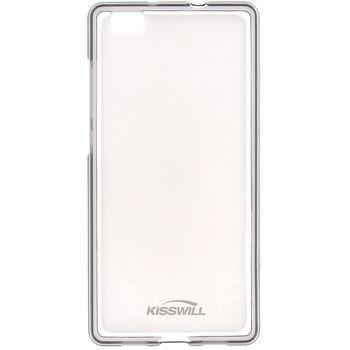 Kisswill TPU pouzdro pro Huawei P8, transparentní