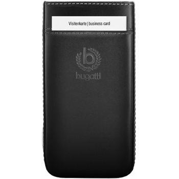 Bugatti Pure Premium kožené pouzdro pro Apple iPhone 5 - černé