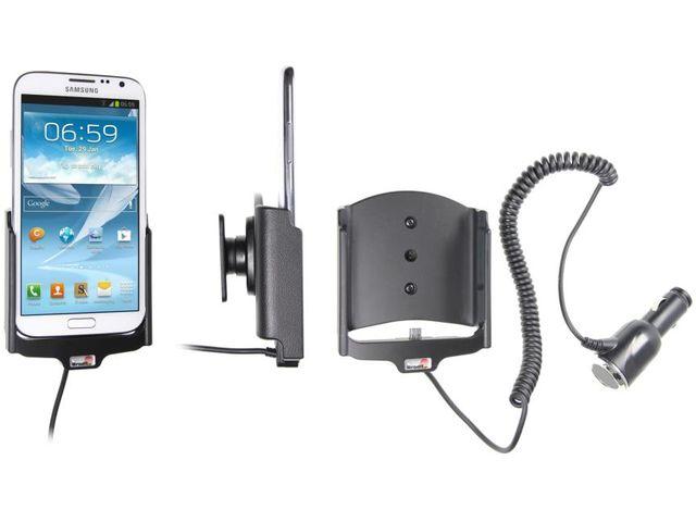 obsah balení Brodit držák do auta pro Samsung Galaxy Note II s nabíjením + adaptér pro snadné odebrání držáku z proclipu
