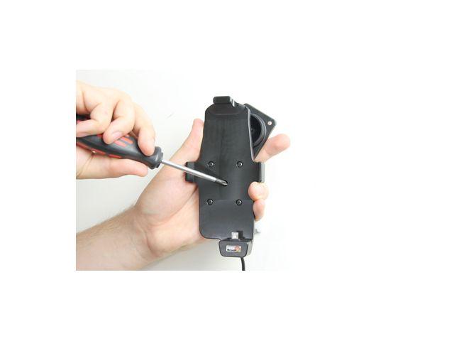 obsah balení Brodit držák do auta pro HTC One s nabíjením, pouze s pouzdrem Hard Shell + pouzdro Hard Shell Double Dip C840