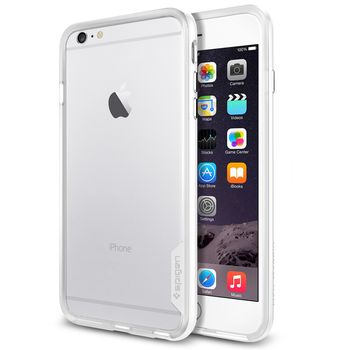 Spigen pouzdro Neo Hybrid EX pro Apple iPhone 6 Plus, bílá