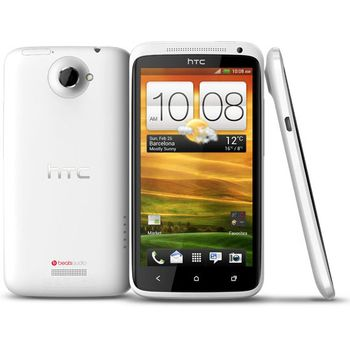 HTC One X bílá s navigací Sygic + fólie na displej ScreenShield