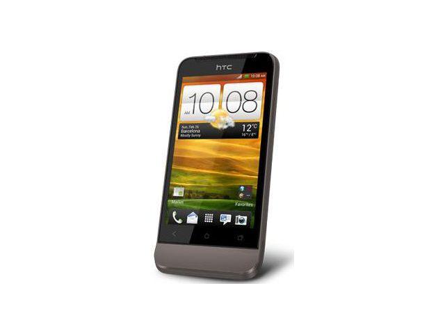 obsah balení HTC One V černý + náhradní originální nabíječka HTC
