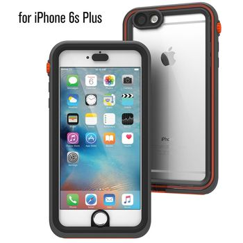 Catalyst vodotěsné pouzdro pro iPhone 6 plus/6S plus, černo-oranžové