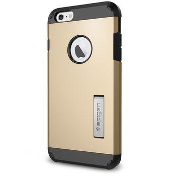 Spigen pouzdro Tough Armor pro Apple iPhone 6 Plus, zlatá