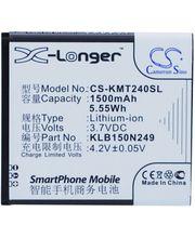 Baterie pro Kazam Trooper 2 X40.0/Trooper 2 4.0, 1500mAh, Li-ion