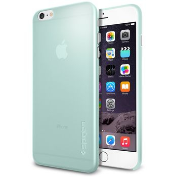 Spigen pouzdro Air Skin pro Apple iPhone 6 Plus, zelená