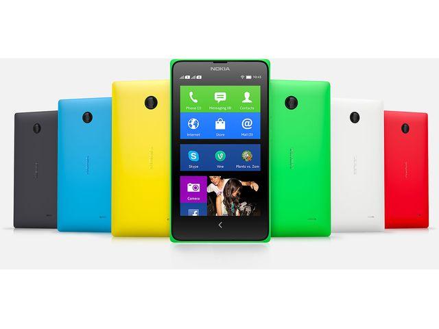 obsah balení Nokia X Dual Sim červená + červený bezdrátový stereo reproduktor