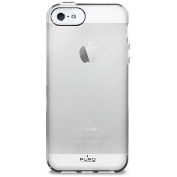 PURO pouzdro Plasma pro Apple iPhone 5 - bílá
