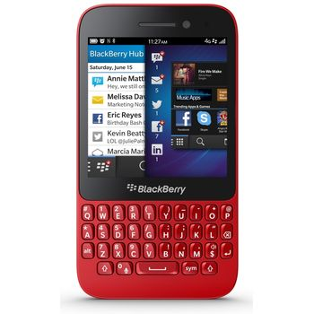 BlackBerry Q5 - červená