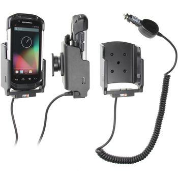 Brodit držák do auta na Motorola (Symbol) TC70 bez pouzdra, s nabíjením z cig. zapalovače