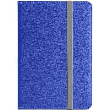 Belkin pouzdro Classic Strap Cover pro Apple iPad Mini, modré (F7N032vfC01)