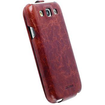 Krusell pouzdro SlimCover Tumba - Samsung I9300 Galaxy S III (hnědá)