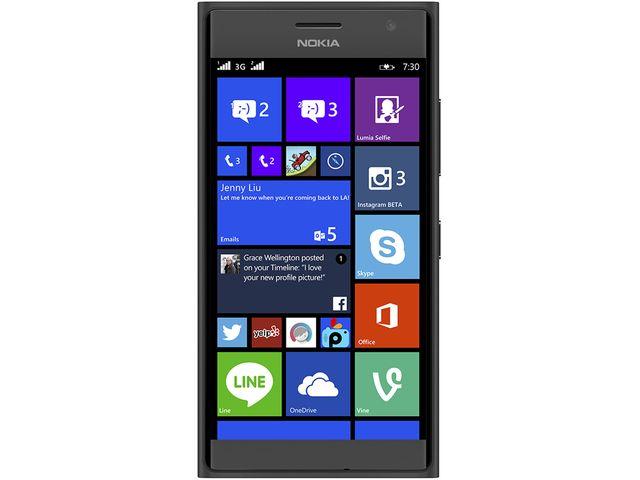 obsah balení NOKIA Lumia 735 šedá