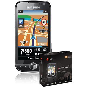 Samsung i8000 Omnia II Silver Black + 4GB navigace Sygic Evropa