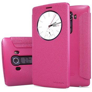 Nillkin flipové pouzdro Sparkle S-View pro LG H815 G4, růžové