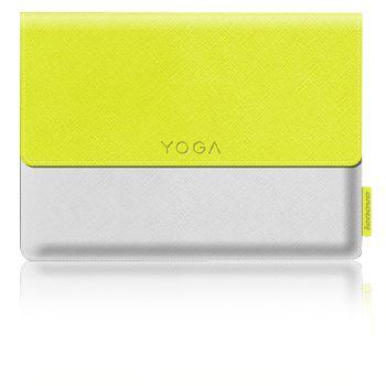 """Lenovo pouzdro pro Lenovo Yoga 3 8"""" + ochranná fólie, žluto-bílé"""